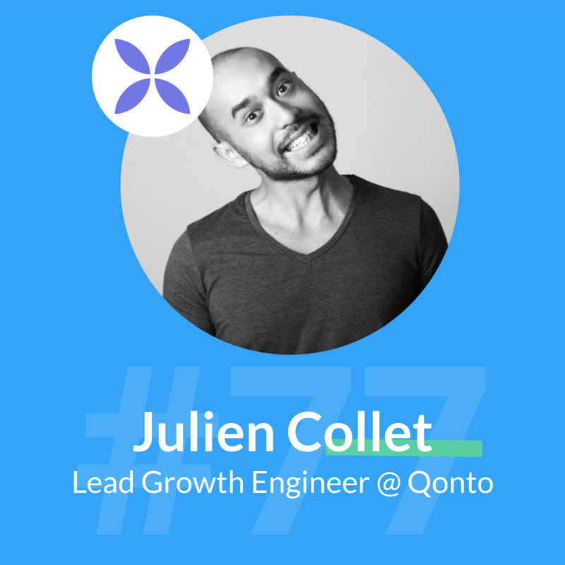 Qonto podcast growth julien collet