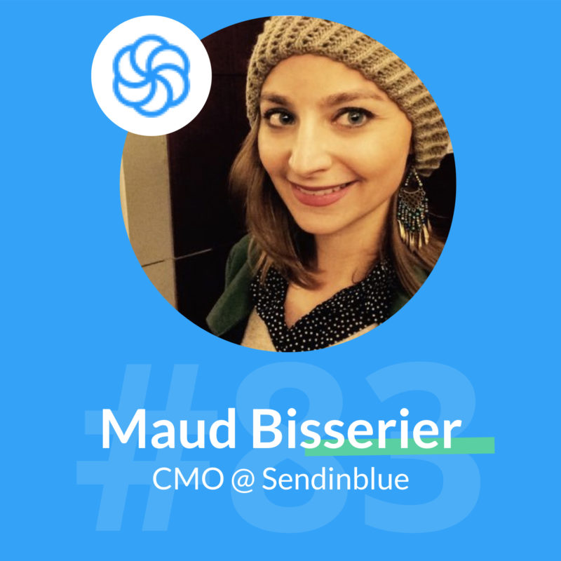 sendinblue podcast marketing maud bisserier