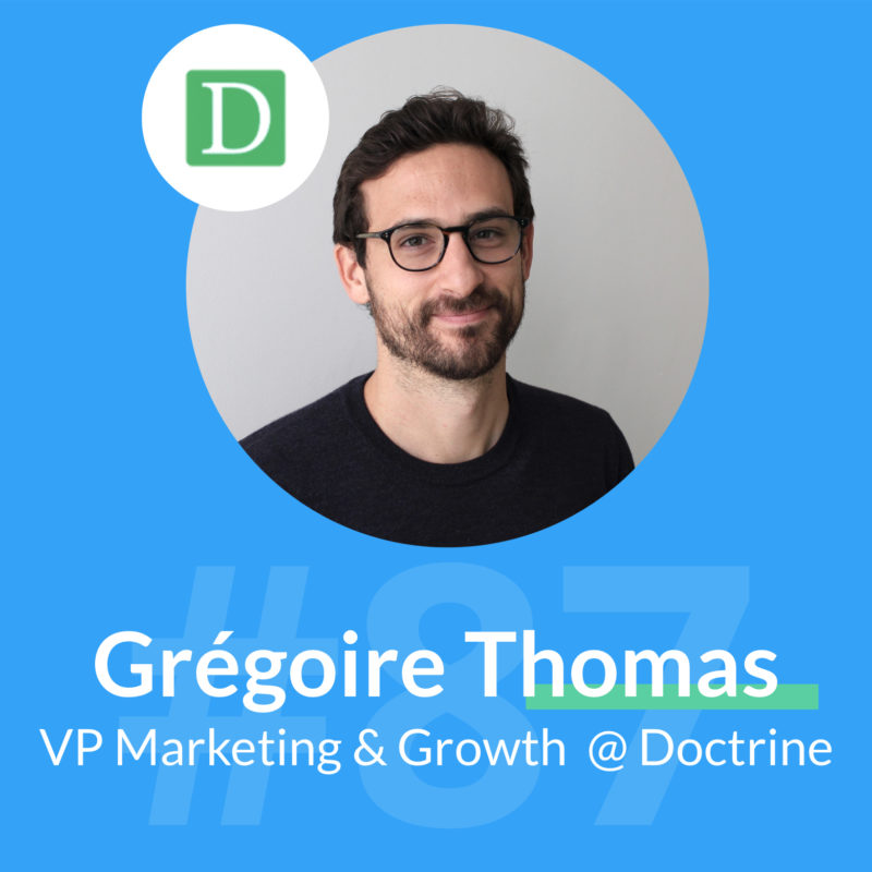 gregoire thomas doctrine marketing podcast