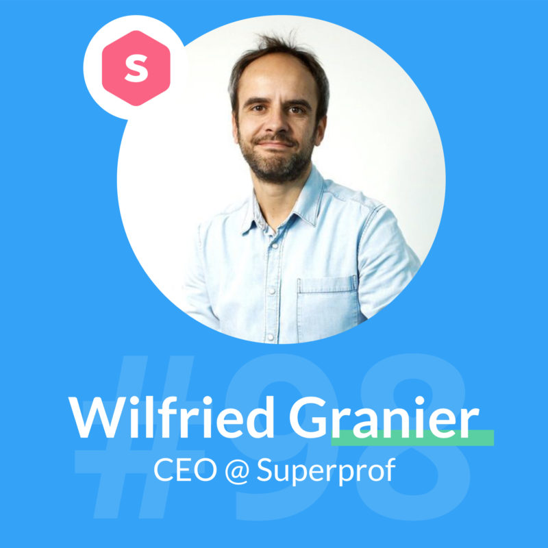 superprof podcast wilfried garnier