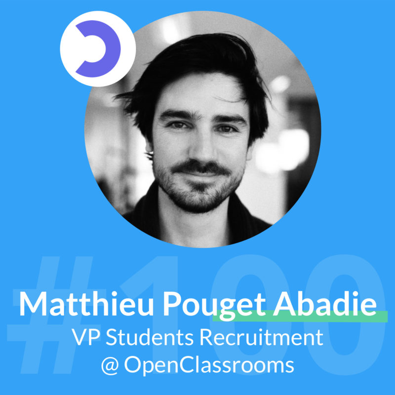 openclassrooms podcast marketing matthieu pouget